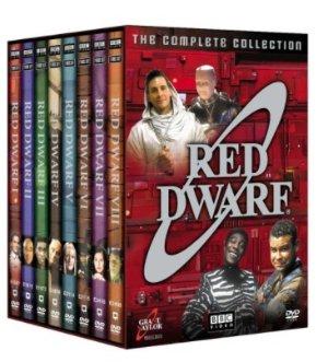 四二折经典科幻喜剧神作《红矮星号》全集影音DVD