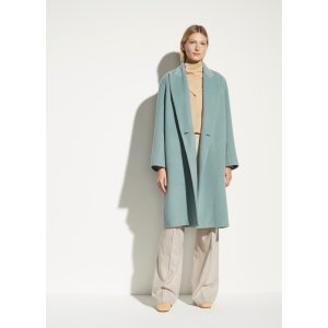 VinceDouble Breasted Oversized Coat