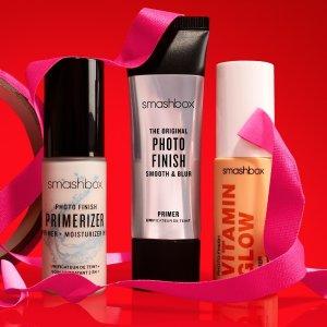满送8件!含口红、妆前乳等Smashbox官网全场大促!收超好用的妆前乳、定妆喷雾