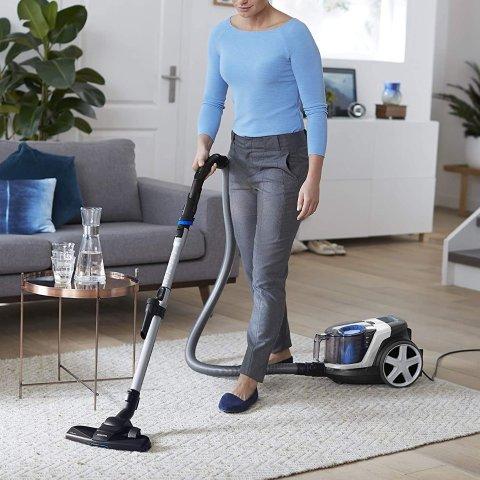 6.2折起 低至€79.99 消除敏原Philips 吸尘器大促 卧式、手持任你选 超强吸力99.9%除尘