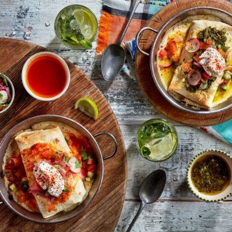 英国长颈鹿休闲餐厅 33家齐上线Giraffe 连锁餐厅 平价健康的家常菜