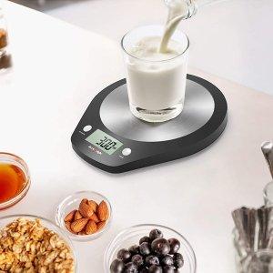 £5.99起收 手机大小超便携!amazon 精选厨房电子秤 厨房小白、完美主义者好帮手