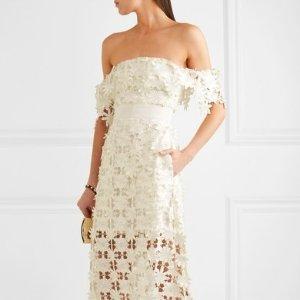 9折 $202.5收不规则时尚上衣Self-Portrait 美衣美裙热卖 收蕾丝美裙