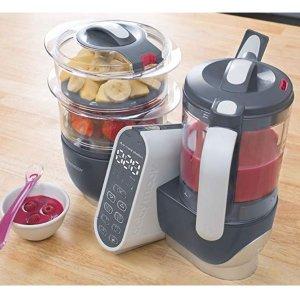 史低价$131.97(原价$219.99)Babymoov Duo 婴儿辅食机/多功能蒸制搅拌一体机  新手爸妈必备!
