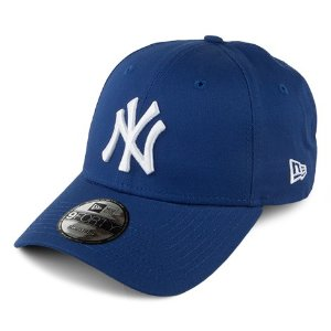 New Era 9FORTY New York Yankees Baseball Cap - MLB League Basic - Royal Blue