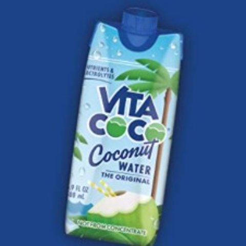 €3.99/1L装 低卡路里Vita 有机椰子水好价来袭 真正的椰汁营养丰富 常年的销冠