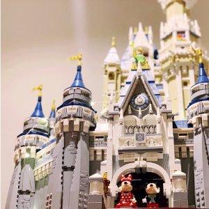 公主城堡梦幻剧情搬回家LEGO 女生专场 女生必抢乐高玩具 构筑少女心小世界