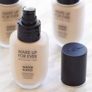 25% offWater Blend FACE & BODY FOUNDATION @ Make Up For Ever