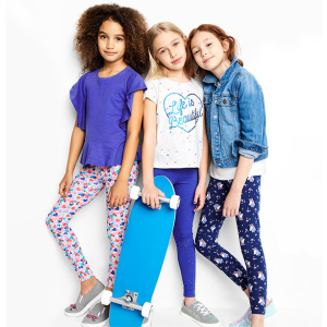 Tees for $5 + Get $10 for every $25 you spendOshKosh BGosh Leggings for $5+ and More Doorbuster Sale