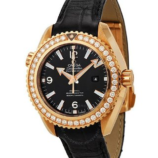 Extra $1000 OffOmega Seamaster Planet Ocean Automatic Diamond Ladies Watch