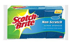 Scotch-Brite Non-Scratch Scrub Sponge, Clean Tough Messes Without Scratching