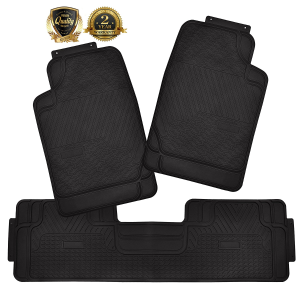 $19Super Accessories Auto Floor Mats 3PC