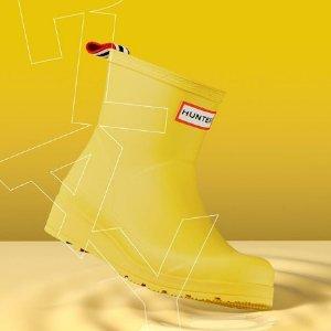 低至5折 短靴$45开学季:Hunter 英国皇室雨靴大促 收夏日超美冰淇淋色