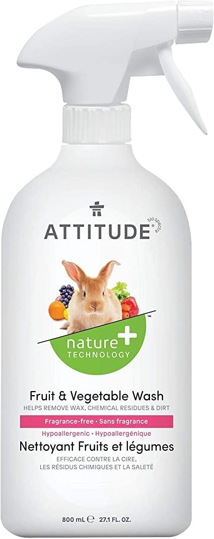 ATTITUDE 天然果蔬洗涤剂 800ml