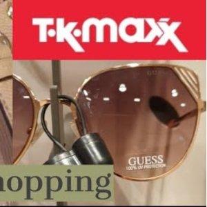0.9折起!£80收双G家热门款!TK MAXX 墨镜大促 双G家、杨树林冰点价!便宜到不可思议