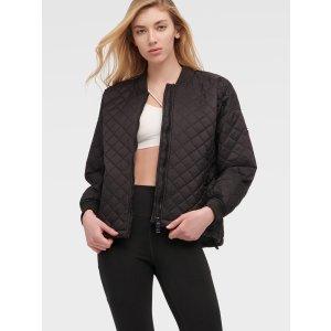 DKNY绗缝飞行员夹克