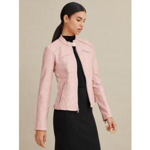 Wilsons LeatherFaux-Leather Scuba Jacket