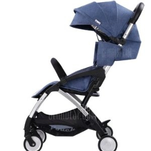 $169.99(原价$277.99)POUCH Lightweight Travel Baby Stroller 轻型旅行婴儿车