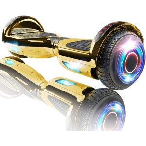 $179.95(原价$189.95)四色可选XPRIT 蓝牙智能体感平衡车 整条街上最靓的仔