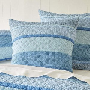 baby蓝靠枕垫