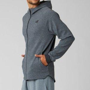限今天:New Balance Finisher FZ 男士运动夹克促销