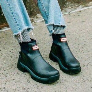 低至5折Hunter官网 奥莱区 有了漂亮雨靴 天天下雨也不怕
