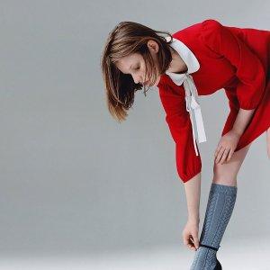4折起+额外8折Red Valentino 少女风美衣大促  收经典红色连衣裙