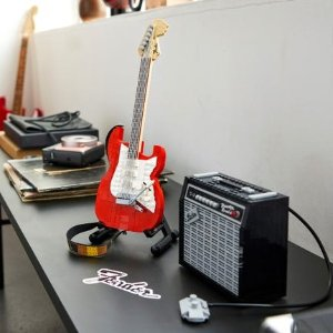 Lego开售!Fender® Stratocaster™电吉他 21329 | Ideas
