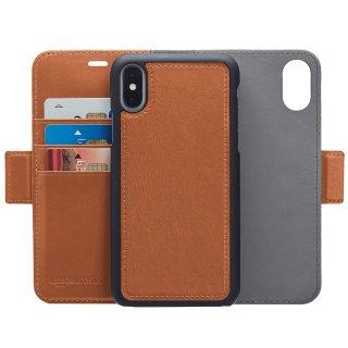$9.1 完美适配iPhone XAmazonBasics PU 开放式皮革钱夹可拆卸磁性粘合保护套