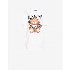 Moschino小熊T恤连衣裙