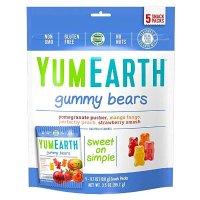 yumearth 天然有机水果小熊软糖 混合口味 5袋装
