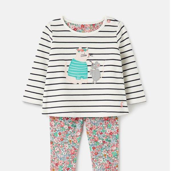 婴儿贴布绣套装