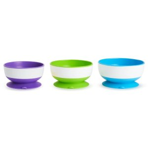 Stay Put Suction Bowls - 3 Pack | Munchkin