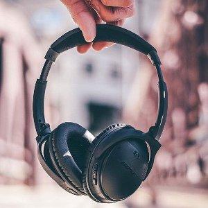 $331 (原价$509) 回国可退税BOSE QC35二代 无线蓝牙主动降噪耳机