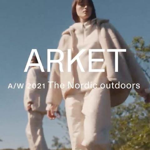 5折起+额外8.5折降价!Arket 全场大促 北欧风简约设计 高质感必备