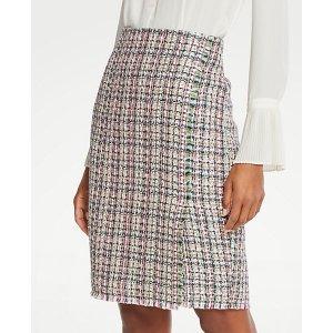 Ann TaylorTweed Wrap Pencil Skirt   Ann Taylor