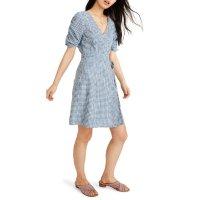 Madewell 格纹连衣裙