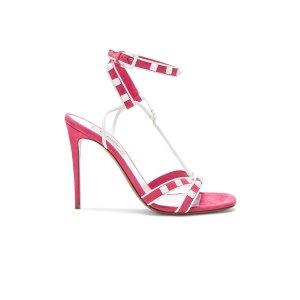ValentinoValentino Free Rockstud Ankle Strap Sandals
