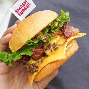 售价$50 每日$2吃汉堡SmashBurger 30天畅享卡现已开售