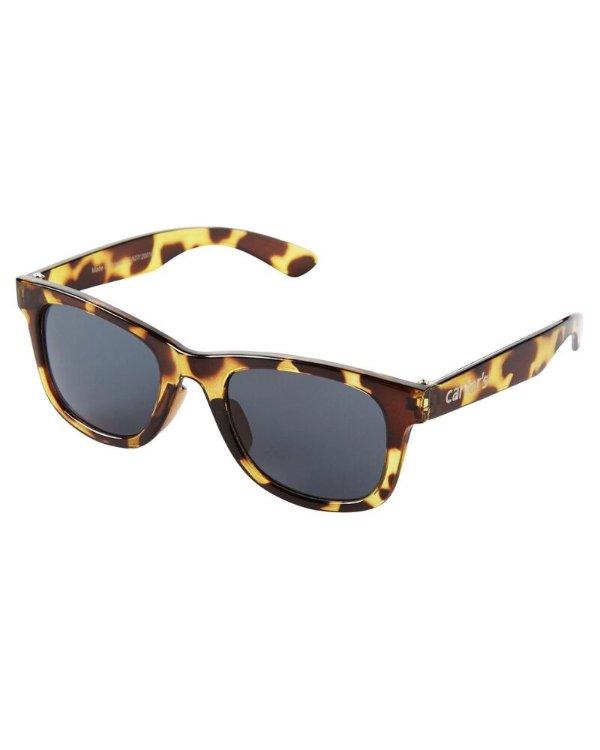 儿童经典玳瑁太阳眼镜