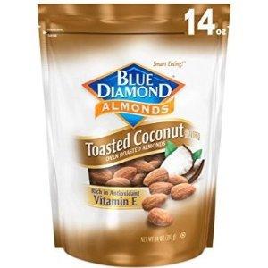 $6.98Blue Diamond 椰香大杏仁 14盎司装