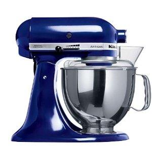 $529 (原价$879)稀缺蓝Kitchenaid KSM150 立式专业厨师搅拌机
