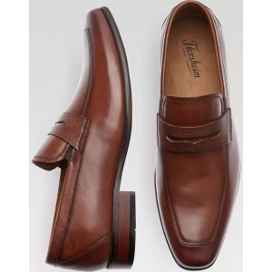 FlorsheimKierland Cognac Penny Loafers - Men's Shoes | Men's Wearhouse