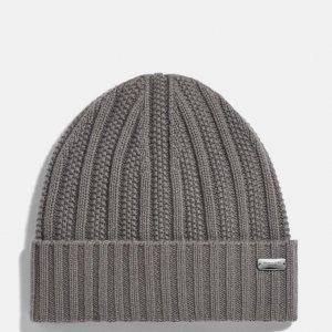 Coach100%羊绒纯羊绒帽