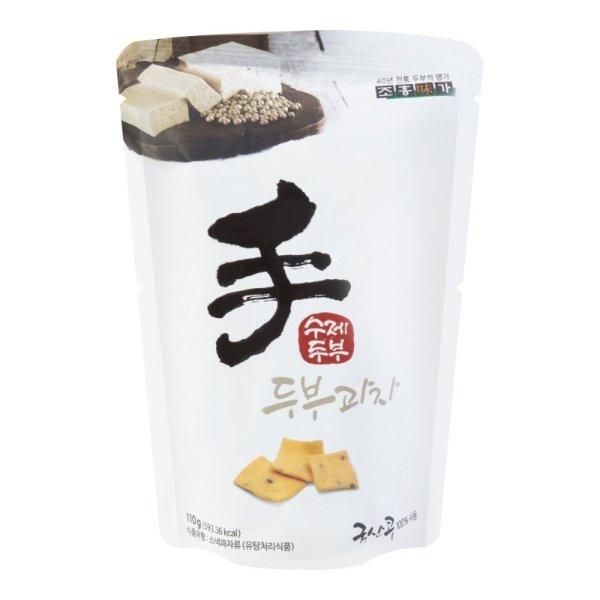 JAYONE 手制豆腐饼干 原味 110g