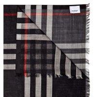 Burberry 羊绒真丝混纺围巾