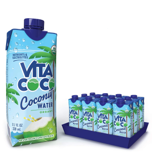 $18.04Vita Coco Coconut Water, Pure Organic 11.1 Oz (Pack Of 12)