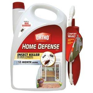 ORTHO Home Defense MAX 室内外杀虫剂+喷嘴,1.1 Gallons