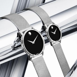 Dealmoon Exclusive: $419.99 eachMOVADO Museum Classic Black Dial Watches
