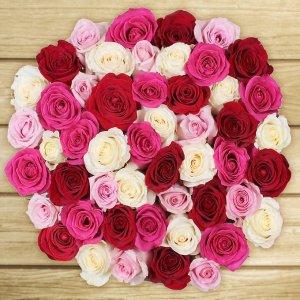 $39.99 起Costco 母亲节精选鲜花 50支预定玫瑰仅$39.99